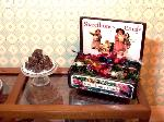 Dollhouse miniature food shop counter candy
